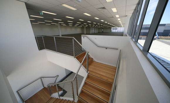Interior of DATS Distribution Centre, Eastern Creek NSW
