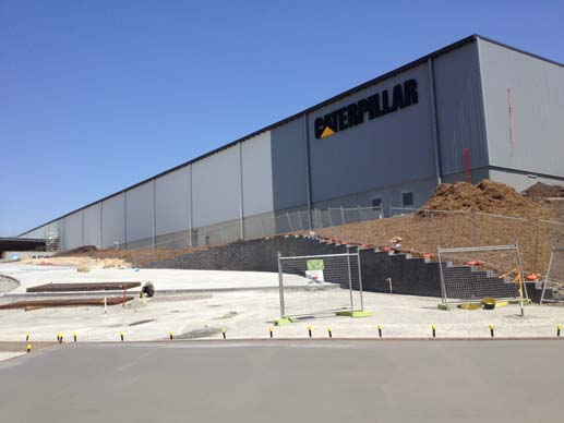 Caterpillar Distribution Centre, Yattala QLD