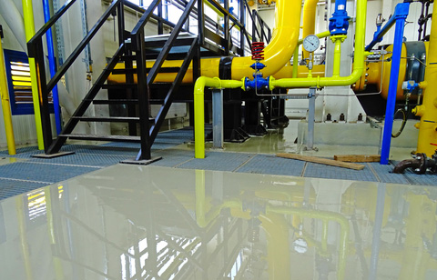 Industrial flooring impregnation