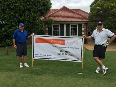 Costin Roe Charity Golf Day 2015