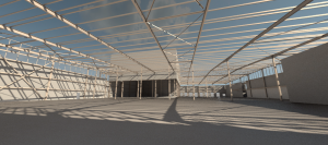 Virtual reality warehouse design