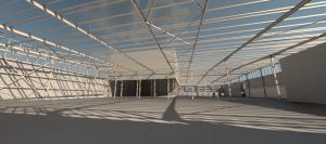 Virtual reality warehouse design