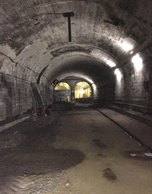 Abandoned railway tunnels under Sydney were used as bomb shelters