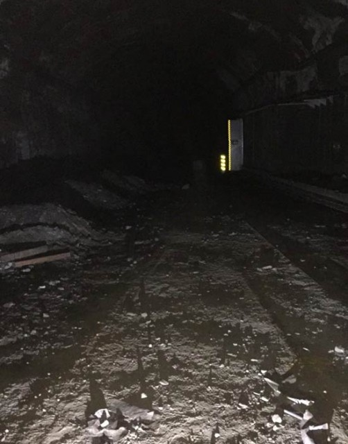 The eerie atmosphere of abandoned railway tunnels