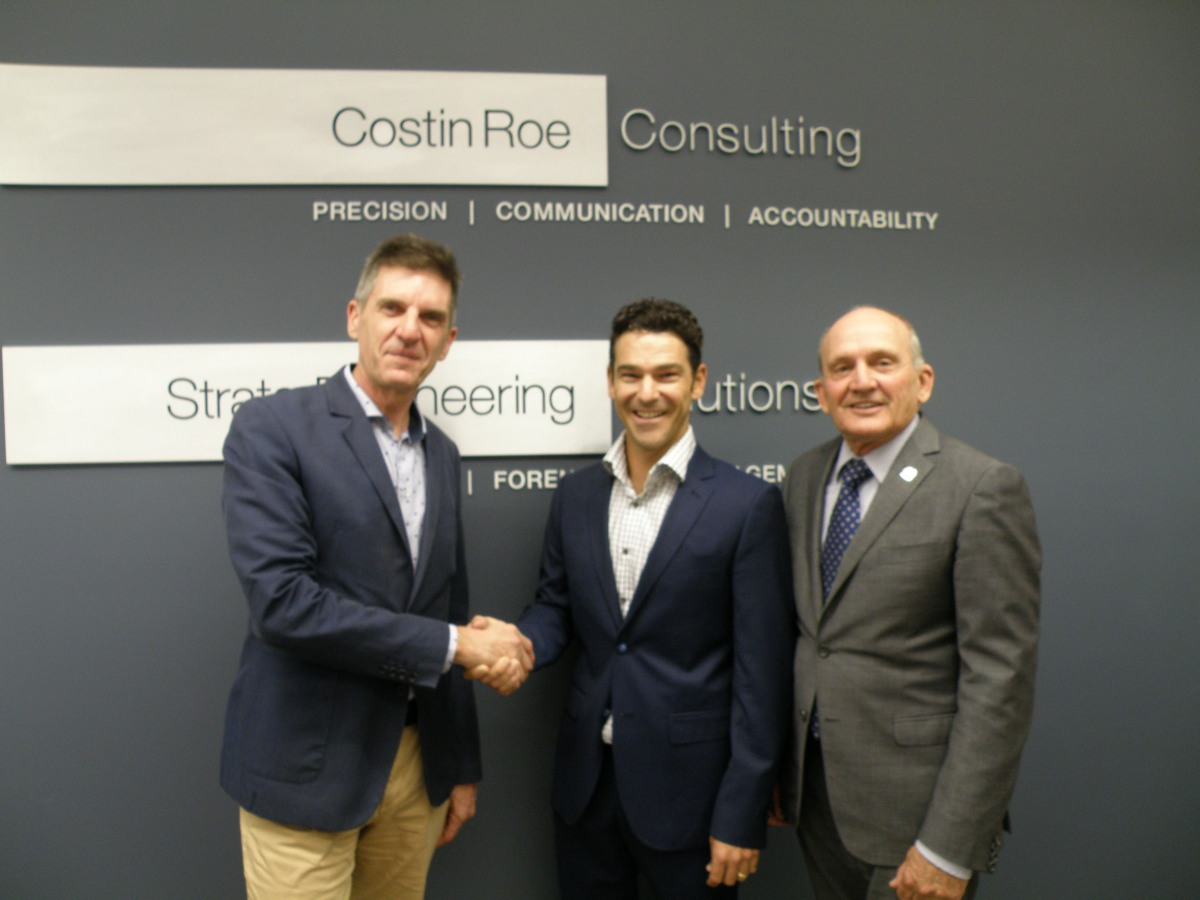 Grant Roe welcomes Mark Wilson to the board of Costin Roe Consulting