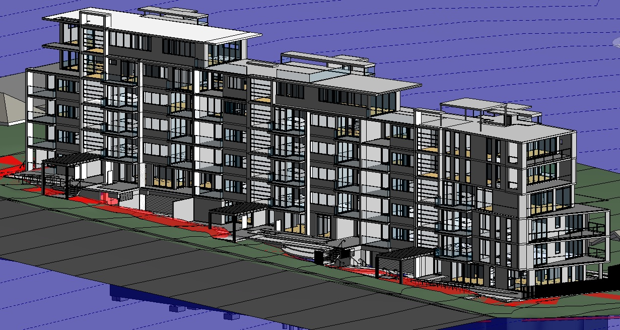 Accent Apartments - Structural Architectural Model