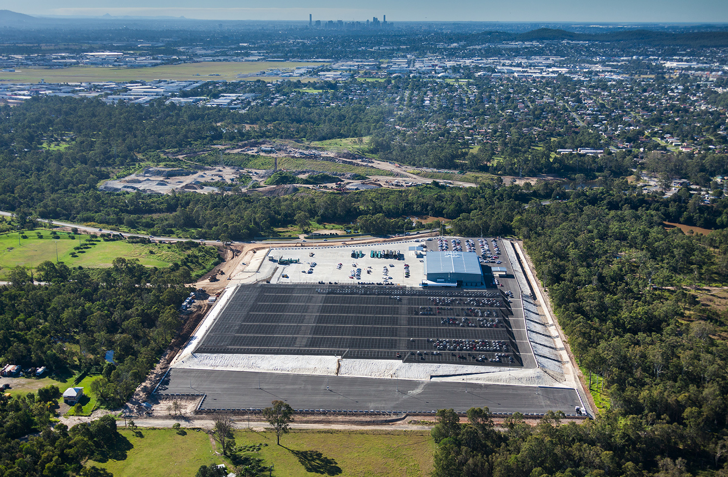 Aerial view of PrixCar Willawong
