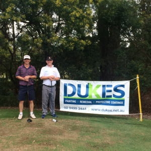Dukes @ CRC Charity Golf Day
