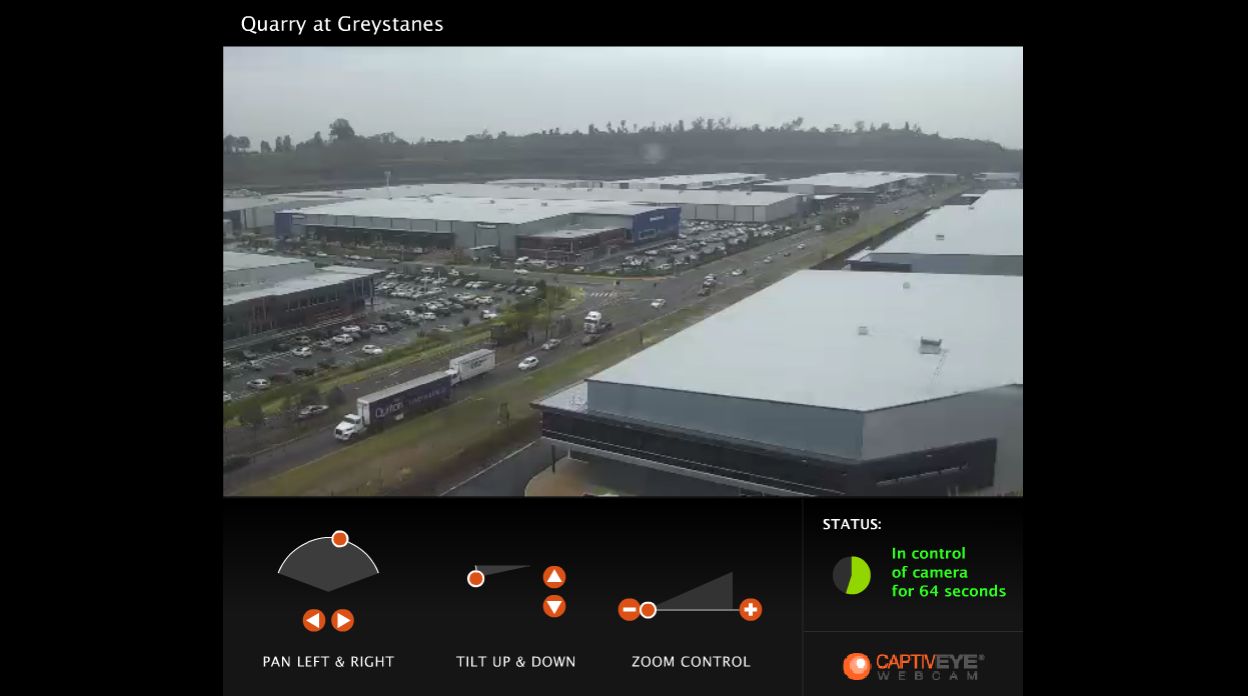 Quarry Greystanes live webcam