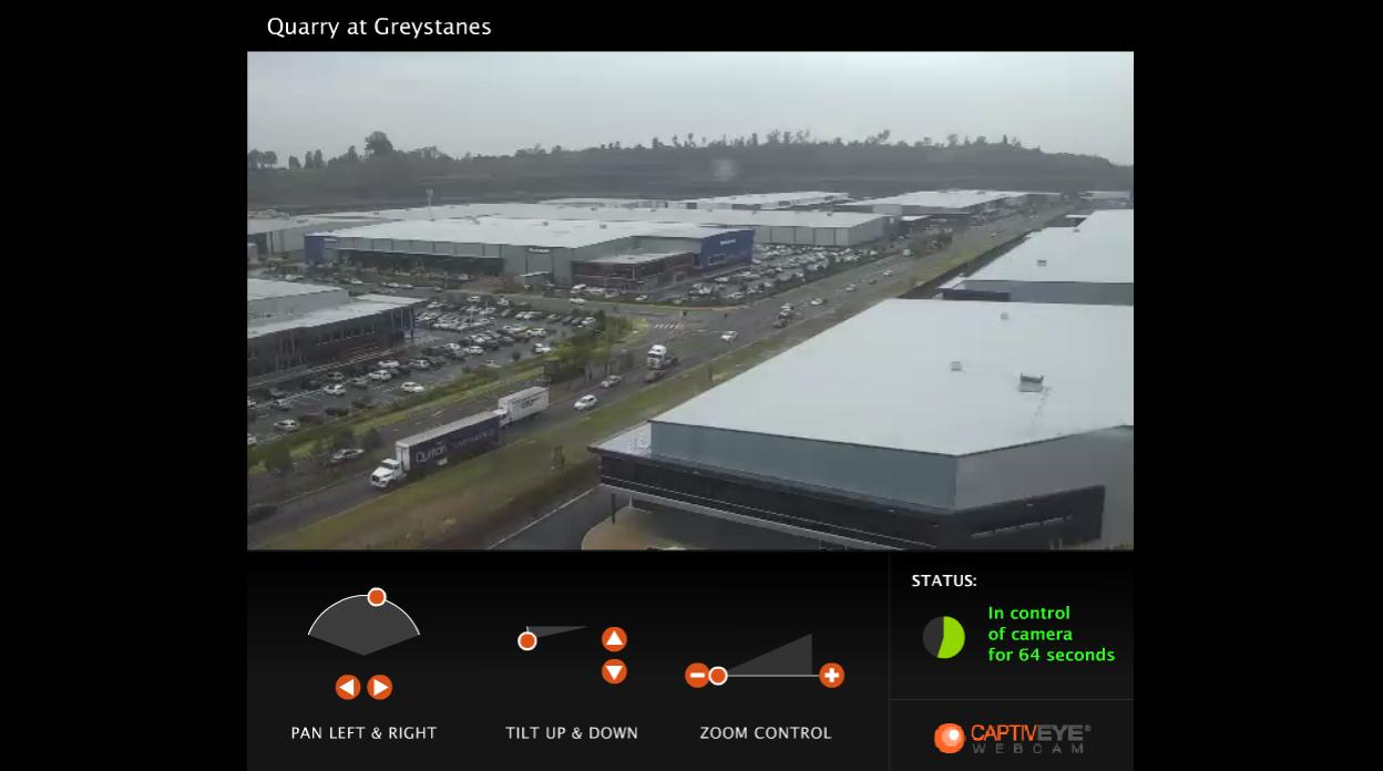 Quarry Greystanes live webcam