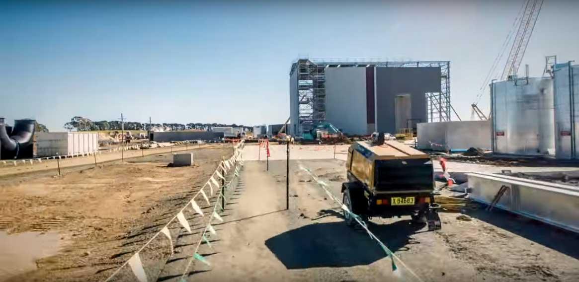 Construction of Veolia Woodlawn MBT Facility, Tarago NSW