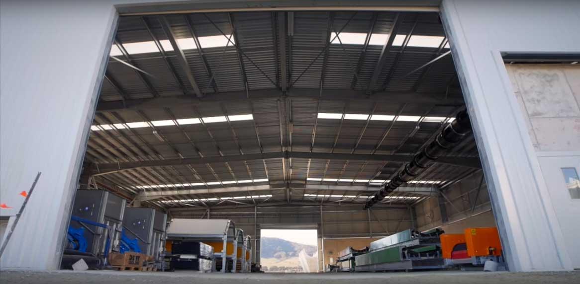 Interior of Veolia Woodlawn MBT Facility, Tarago NSW
