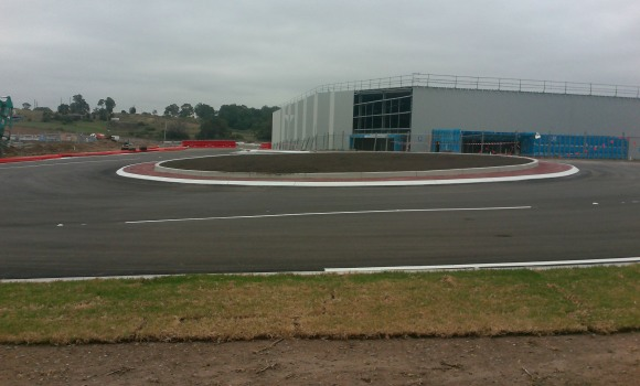 Horsley Drive Business Park, structural engineering