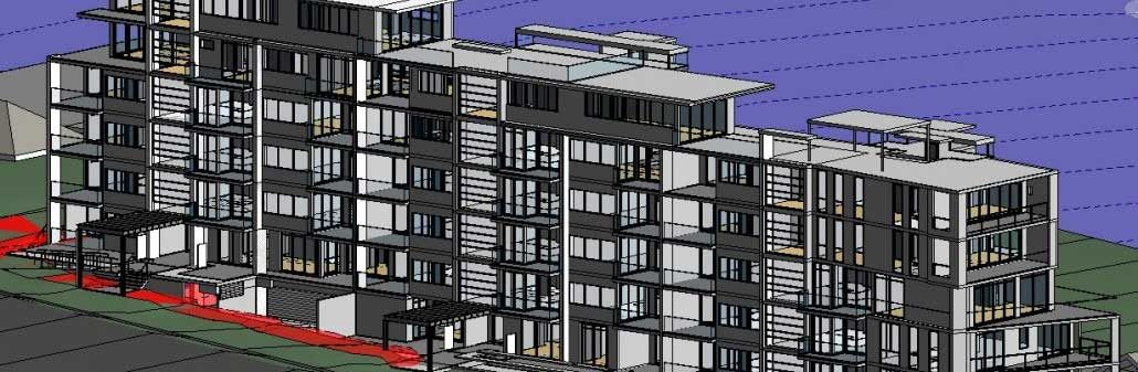 Apartment buildings 2D