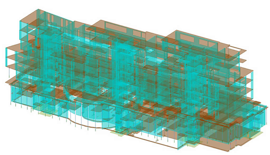 Accent Apartments structural analysis