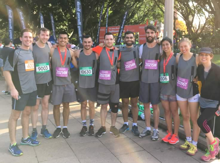 Costin Roe Consulting engineers at SMH Half Marathon 2017