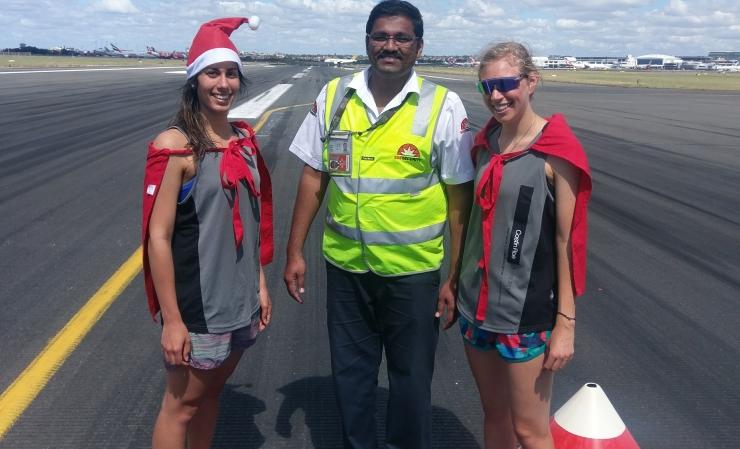 Sydney Airport Runway Run