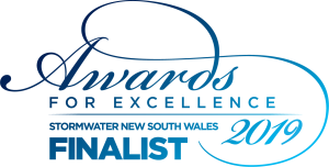 Finalist NSW Stormwater Awards for Excellence Finalist