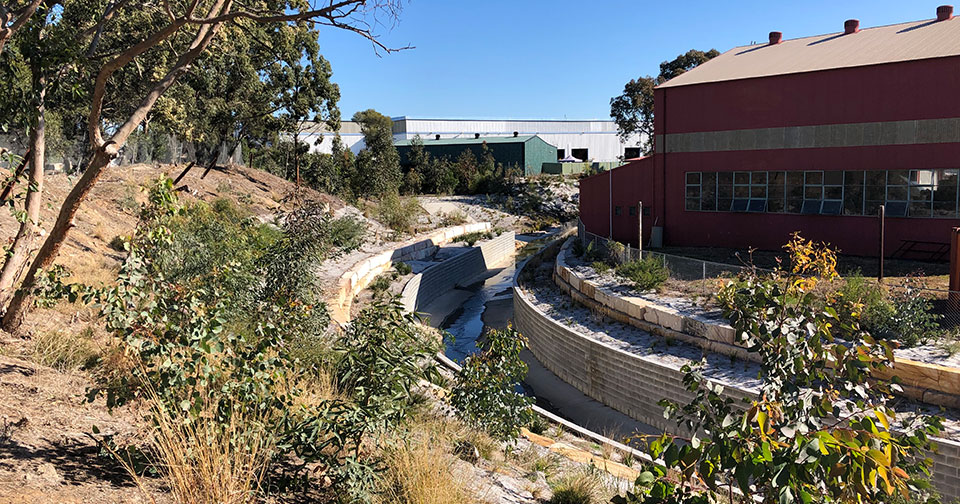Integrated stormwater design Chullora NSW